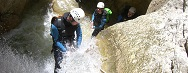 Canyoning in Frankreich
