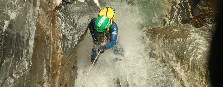 Canyoning Hohe Savoien